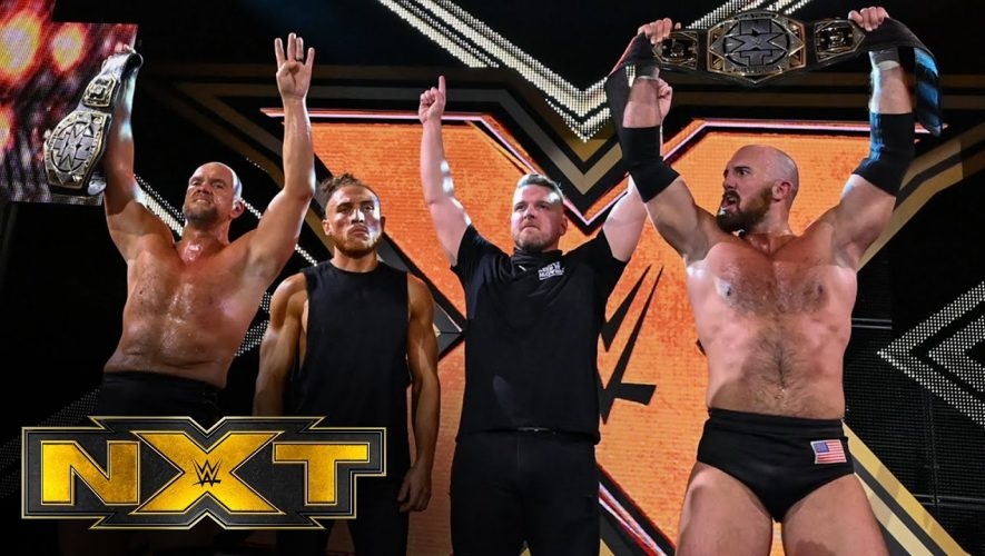 Pat McAfee and crew relish their work: WWE Network Exclusive #wwenxt
